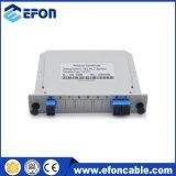 Gpon Epon ONU divisor óptico de 1X2 1X8 PLC Splitter con precios baratos