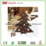 Kerstman van het Metaal van Kerstmis de Decoratieve voor de Staken van de Tuin