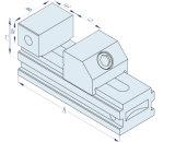 Провод режущего блока зажима инструмента из нержавеющей стали Maker тиски 3A-210035