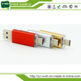Tipo-C OTG USB 3.0 Flash Drive 32GB 16GB 64GB Pen Drive Memória do telefone inteligente