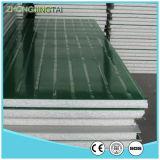El panel de emparedado decorativo ligero del azulejo de azotea de la hoja de acero EPS del color de los materiales del metal