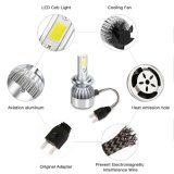 LED Auto Lamp 36W 3800lm COB Chips H7 C6 LED Projecteur phare / LED