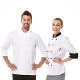 Nuova uniformi del cuoco unico dell'hotel 100% & del ristorante del cotone