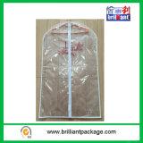 Cobertura de vestuário de vestido de casamento transparente de PVC