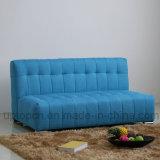 Il sofà moderno del salone ha impostato con la tappezzeria blu del tessuto (SP-KS368)