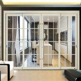 Las puertas de aluminio vendedoras más calientes de la diapositiva de 1.4m m para el chalet y el hotel (FT-D80)