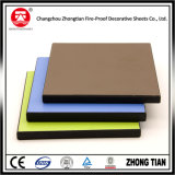 Revestimiento de película anti-UV Paneles de pared exterior HPL