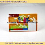 Quatro cartão impresso a cores com pé magnético para o trabalho que permitam