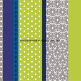 100%Polyester de Afgedrukte Stof van het Element van de cel Pigment&Disperse voor de Reeks van het Beddegoed