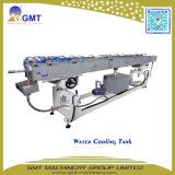 Línea cónica de la máquina de la protuberancia del Gemelo-Tornillo del PVC de puerta del perfil plástico del marco