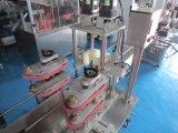 Imbottigliamento liquido cosmetico e macchina di coperchiamento