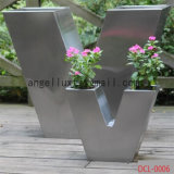 中国フォーシャンのステンレス鋼の植木鉢の金属プランター製造業者