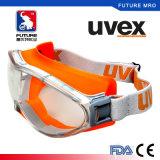 Uvexの化学しぶきのギョロ目のナイロンヘッド汗バンドが付いている反霧のコーティング