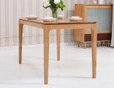 固体木のダイニングテーブルの居間の家具(M-X2882)