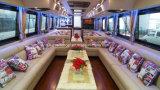 bateau de passager de luxe de mariage d'usager de paquet de la fibre de verre deux de 67FT