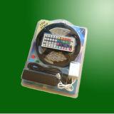 Luz de tira No-impermeable mencionada de la UL IP20 30000lm/roll 12V/24V los 7.2W/M SMD5050 LED