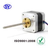 42 mm (NEMA17) 2 Fase Stepper Motor eléctrico para CCTV