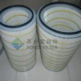Cartuccia di filtro dell'aria del poliestere HEPA del collettore di polveri di Forst