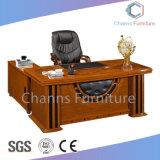 Роскошный живопись Мебель из натуральной кожи письменный стол с надставкой таблица (CAS-SW1701)