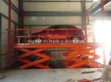 Type de voiture stationnaire ciseaux hydraulique de levage avec une haute qualité