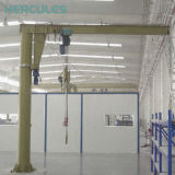 Hercules pilier de 5 tonnes d'un palan électrique montée sur le sol Petite Grue de la flèche