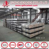 Dx51d Eisen-Stahlzink-gewölbtes Metalldach-Blatt