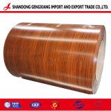 Printech PPGI imitación madera bobinas de acero prebarnizado