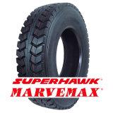 Neumático radial del carro de Superhawk (11R22.5 295/80R22.5 12R22.5)