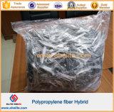 Concrete에 있는 마이크로 Staple Plastic Polipropylene Fiber