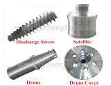 Automático separador de descarga decantador continuo para tratamiento de aguas