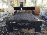 Máquina de grabado de mármol de piedra de madera del CNC del granito de la fuente de la fábrica
