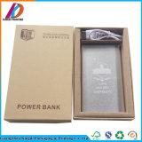 Impression personnalisée carton Boîte d'emballage de la Banque d'alimentation électronique
