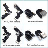 iPhone 5g 5s 5c 6g 6s 6splus 6plus 7g 7plusのための携帯電話の屈曲ケーブルの前部背部カメラ