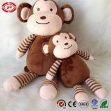Jouet mou animal se reposant de peluche mignonne de singe du cadeau En71