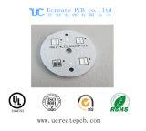 PCB redondo de la base del metal para la luz del LED