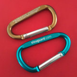 도매 Keychain 더 싼 황급한 훅 Carabiner 열쇠 고리 클립