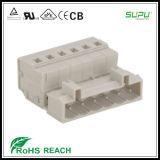UL masculina 300V 15A del conector de los bloques de terminales de Supu