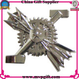 Placa de metal pin con logotipo de la sonrisa (m-B14)