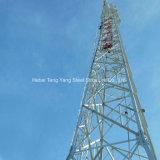 4 Legged Toren van de Antenne van de Microgolf van het Rooster van het Staal van de Hoek