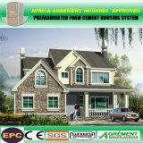 Vorfabriziertes Fertighaus steuert das Haus automatisch an, das durch ENV-Kleber-Zwischenlage-Panel gebildet wird