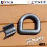 Clip D de matériel de calage d'acier du carbone avec le point de support
