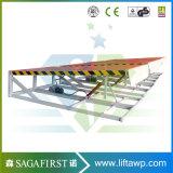 6tonne 12tonne; télescopique mécanique niveleurs de quai niveleur de quai; cylindre hydraulique de rampe