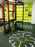 ゴム製微粒EPDMの体操の十字および適性のフロアーリングのマット