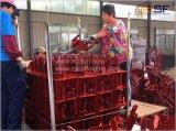 赤い絵画型枠の足場支柱Forkhead