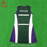 販売のためのHealong ODMサービス服装の昇華学校の女の子のネットボールの服