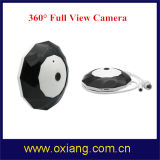 360 Grad 12 Radioapparat CCTV-Kamera 960p P2p WiFi IR-LED panoramische intelligente Innen-IP-Kamera