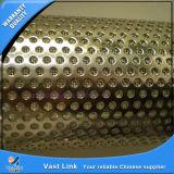 tubo perforado del acero inoxidable 316L