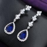 Wedding Accessories White gold CZ drop Earring