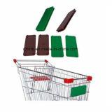 Покрытие хром металлический провод тележка для покупок Maket