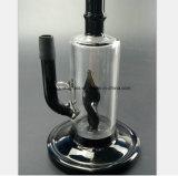 Weiße, schwarze GlasHuka-Wiederanlauf-Wasser-Rohre